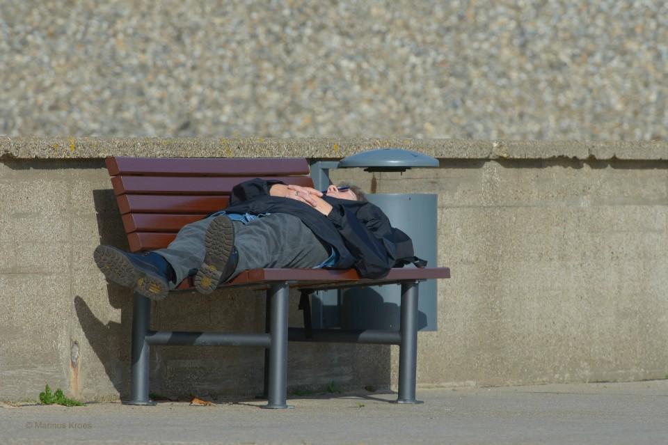 Album foto uitslapen uit het fotoalbum Mensen
